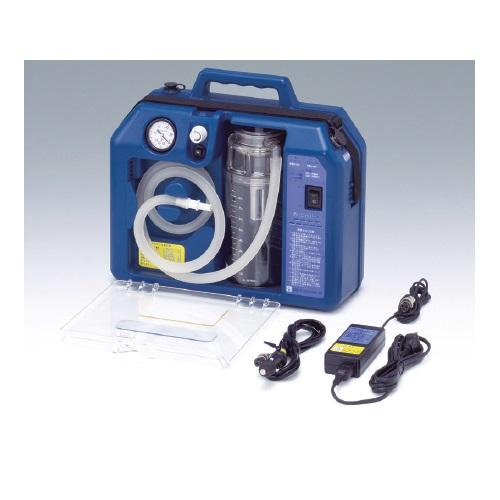 【送料無料】 医療機器 吸引器 パワーミニック W360×D145×H310mm VL.60 新鋭工業