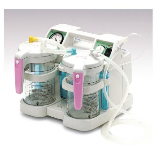 【送料無料】 医療機器 吸引器 パワーキャリー W331×D291×H275mm CPS-2800DX 新鋭工業