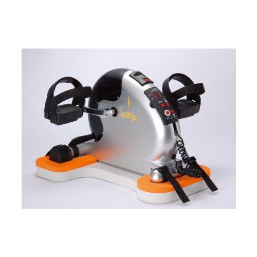 【送料無料】 電動サイクルマシン エスカルゴ 約41×40×31cm 本体/約7.1kg、安定ボード/約780g PBE-100 明成