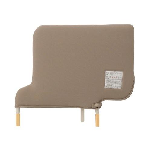 【送料無料】 介護ベッド補助具 楽匠Sシリーズ ソフトカバー付きベッドサイドレール 1本 KS-151QC パラマウントベッド