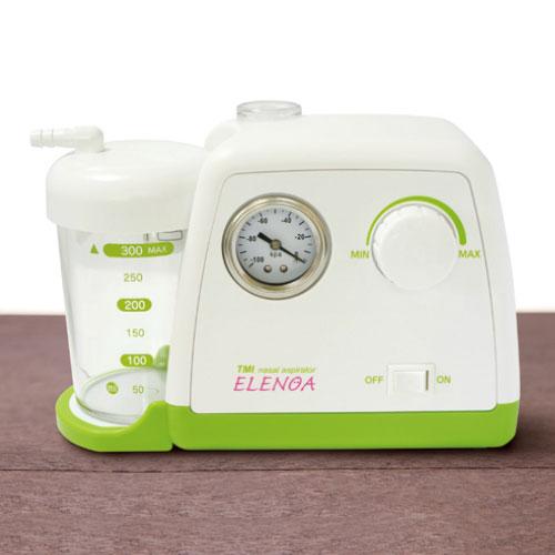 【送料無料】 医療機器 電動鼻水吸引器 ELENOA エレノア W220×H145×D90mm 657777 東京エム・アイ商会