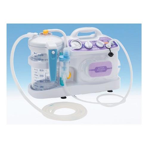 【送料無料】 医療機器 吸引吸入両用器 セパ-II W395×D157×H274mm NS2-1400 新鋭工業