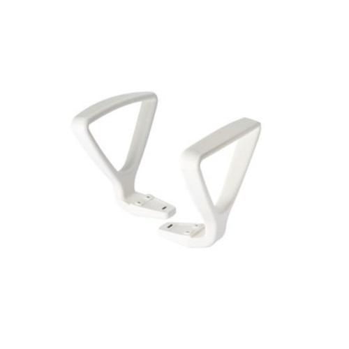 ボニートチェア用ループ肘 ホワイト KTP-146-W9 イトーキ
