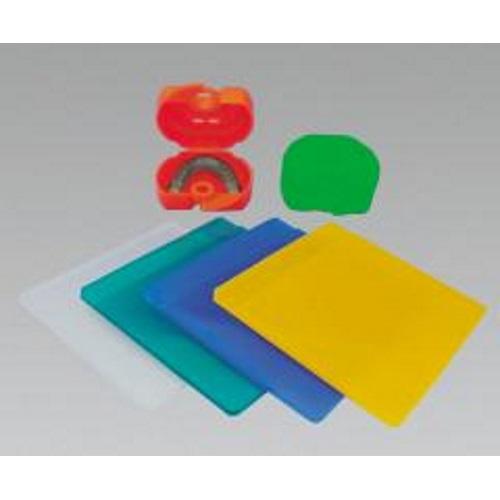 インパクトガード セット 4色アソート10枚入(クリア4枚、ブルー・ホワイト・ピンク各2枚) GC