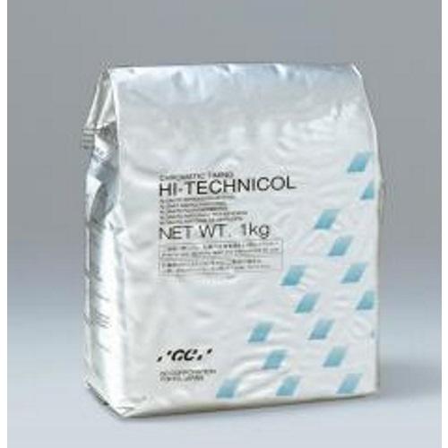 【送料無料】 アルギン酸塩印象材〈変色性〉 ハイテクニコール 5 1函=粉末5kg(1kg5袋) GC
