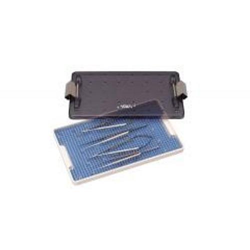 【送料無料】 滅菌ボックス マイクロインスツルメント 滅菌ボックス 寸法:縦=170mm 横=280mm 高さ=23mm 1個 GC