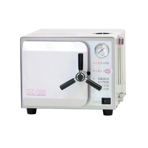 【送料無料】 医療機器 小型未包装品用高圧蒸気滅菌器 サンクレーブ SGC-1500 伊藤超短波