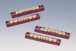 【送料無料】 医療機器 バイオエース35°(臼歯) M32 下顎 55 1箱16組(128歯) 松風