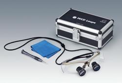 【送料無料】 医療機器 MiCDルーペ スポーツフレームTTLタイプ S ワイド プラチナ 65g 松風