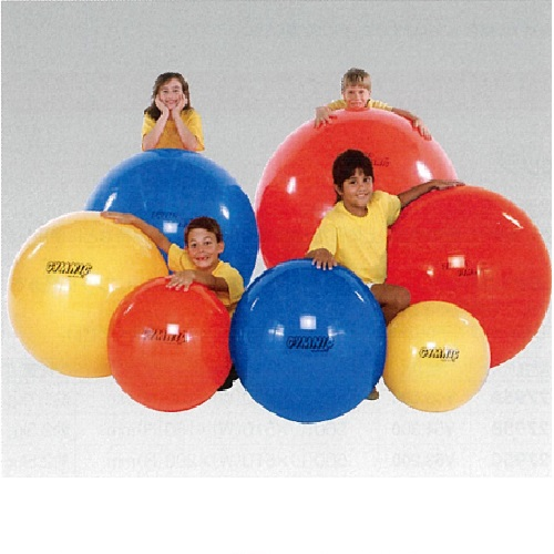 エクササイズボール 黄 θ45cm 700g
