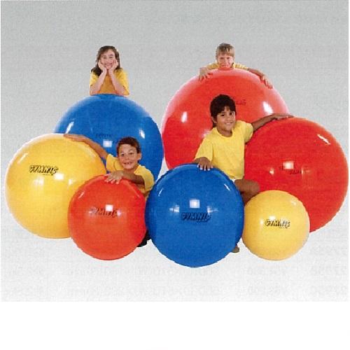 【送料無料】 エクササイズボール 赤 θ85cm 2000g