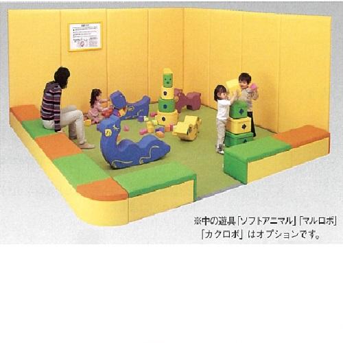 【送料無料】 ストレートベンチA 中間用 オレンジ 800×400×300mm 10.7kg