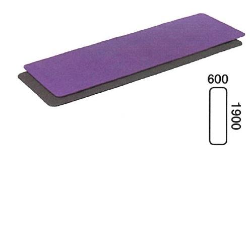 【送料無料】 ヨガピラティス 190 チャコール L1900×W600×H8mm 1.4kg