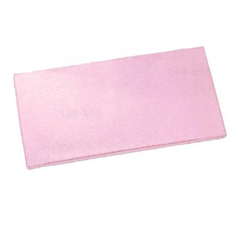 【送料無料】 抗菌レザーマット ピンク W1800×D900×H50mm 10kg