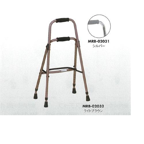 【送料無料】 ウォーカーケイン ライトブラウン W42×D32.5×H75~87.5cm 1.7kg