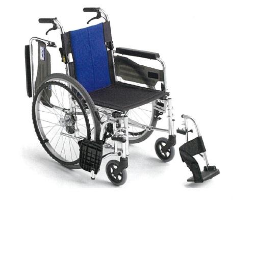 【送料無料】 自走型車椅子 幅60×奥行98.5×高さ86.5cm 14.7kg