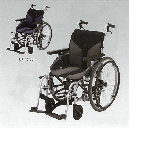 【送料無料】 車椅子 サイドウェイ 幅61×奥行98×高さ87cm 17.7kg