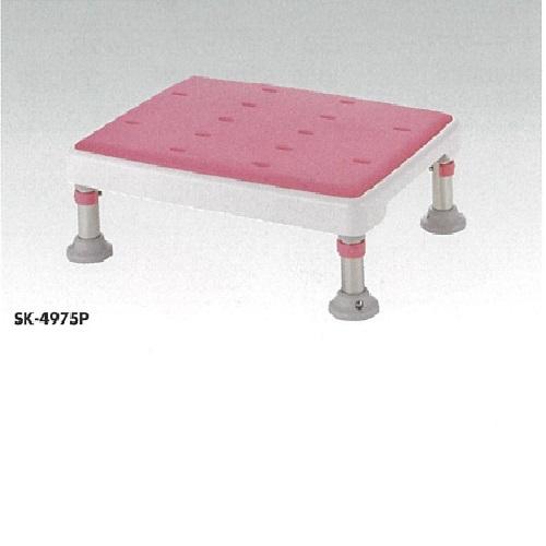 【送料無料】 浴槽台 高さ調節付 やわらか L41×W30×H22~31cm