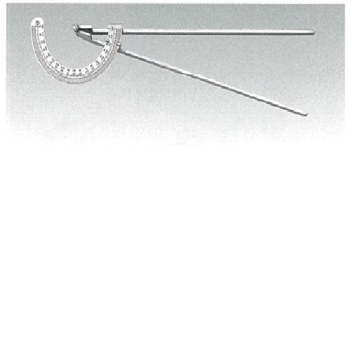 角度計 ステンレス製 (東大式タイプ) 450mm