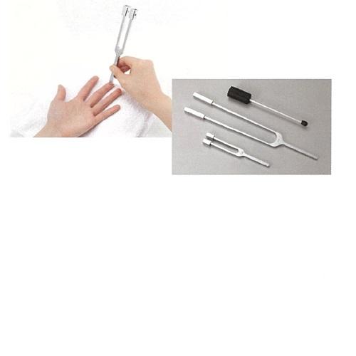 【送料無料】 振動覚音叉セット(たたき棒付) L200mm 40g