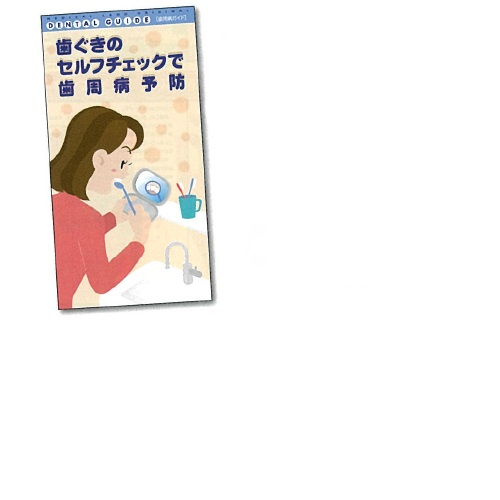 【送料無料】 歯周病ガイド 名入れ有 H210×W110mm 500冊 メディカルランド