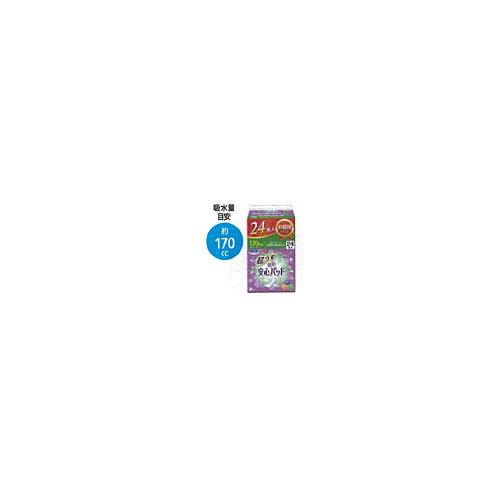 【送料無料】 18袋 リフレ 安心パッド お徳用パック 吸水量170CC 24枚 (株)リブドゥコーポレーション