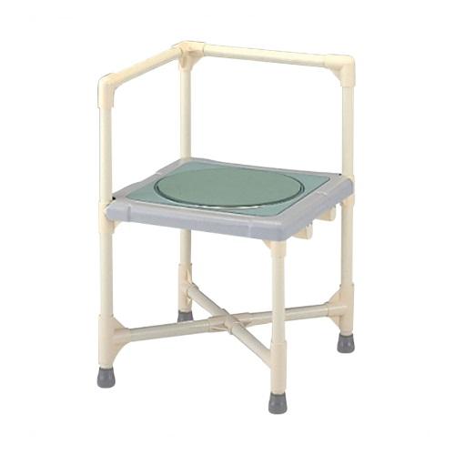 【送料無料】 シャワーいす L型 ターンテーブルタイプ 大 1台 CAT-0101 矢崎化工