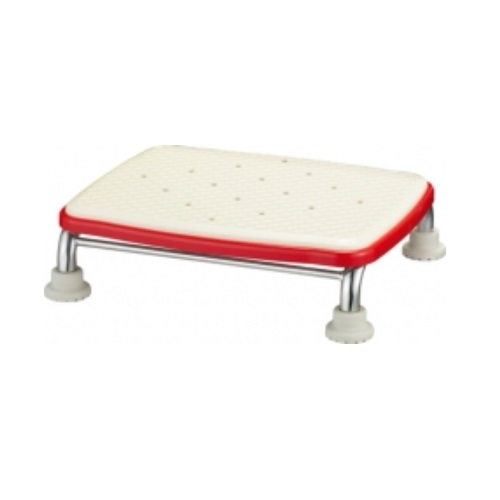 【送料無料】 安寿 ステンレス製浴槽台R あしぴた 標準 ソフトクッションタイプ10 レッド 高さ/10cm 1台 536-450 アロン化成