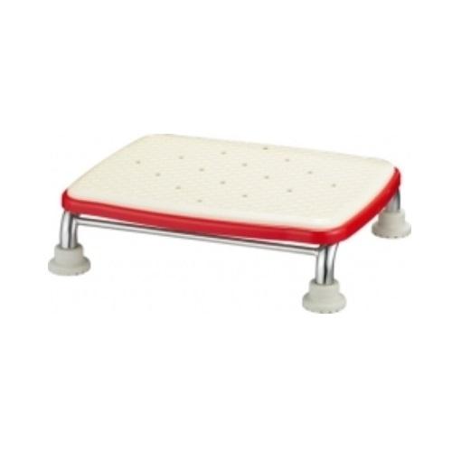 【送料無料】 安寿 ステンレス製浴槽台R ジャスト ソフト10 レッド 高さ/10cm 1台 536-500 アロン化成