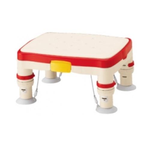 【送料無料】 安寿 高さ調節付浴槽台R かるぴったん 標準 ソフトクッションタイプ レッド 1台 536-482 アロン化成
