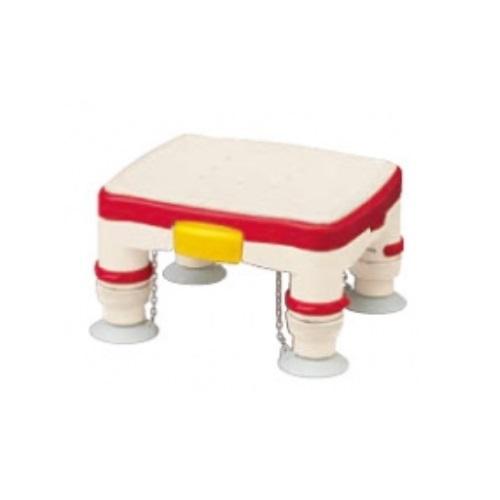 【送料無料】 安寿 高さ調節付浴槽台R かるぴったん ミニ ソフトクッションタイプ レッド 1台 536-486 アロン化成