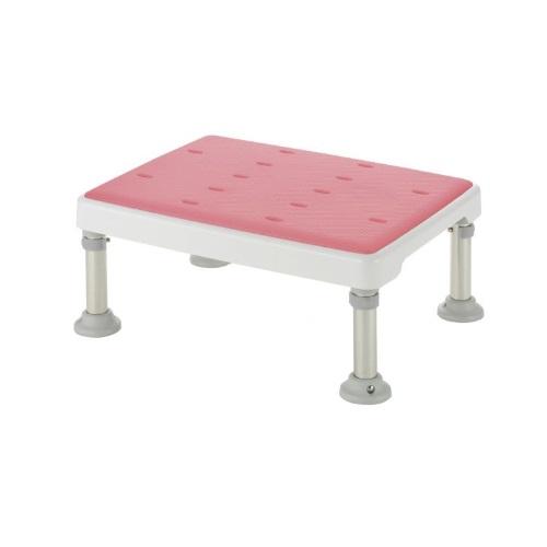 【送料無料】 浴そう台高さ調節付 やわらか M型 ピンク 高さ/17.5~22cm 1台 49761 リッチェル