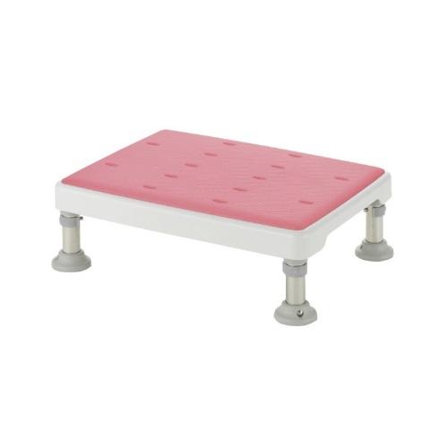 【送料無料】 浴そう台高さ調節付 やわらか L型 ピンク 高さ/13.5~15cm 1台 49751 リッチェル