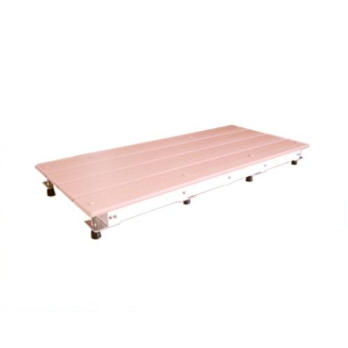 【送料無料】 スノコちょうせい君 高さ13~17.5cm対応用 ピンク 1台 バリアフリータケウチ