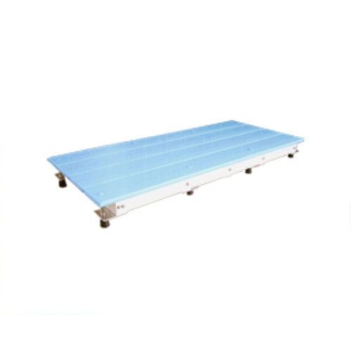 【送料無料】 スノコちょうせい君 高さ13~17.5cm対応用 ブルー 1台 バリアフリータケウチ