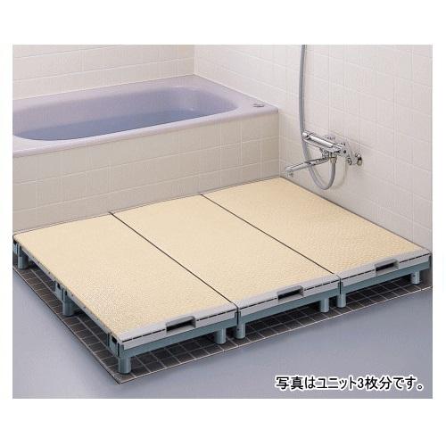 【送料無料】 浴室すのこカラリ床 300幅ユニット 1250サイズ 幅29.9×長さ124.9×高さ6~17.2cm 1台 EWB474 TOTO