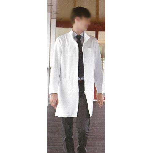 【送料無料】 男子ドクターコート ホワイト SD-3070 ナガイレーベン