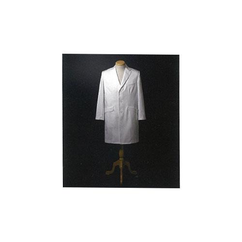 【送料無料】 男子シングルドクターコート(Y体) ホワイト FD-4000 ナガイレーベン