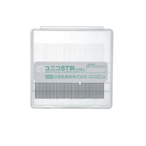 ユニコ ST鍼 2番×1寸6分鍼径鍼径0.18×長さ48mm) 50本入 日進医療器