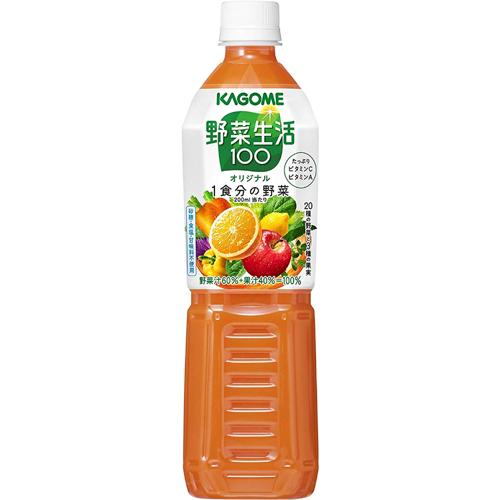 おいしく手軽にやさい習慣 野菜生活100 初回限定 ペットボトル オリジナル 付与 カゴメ 720ml×1ケース 15本入