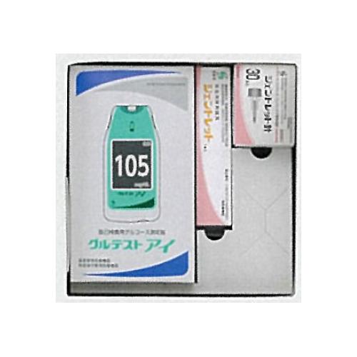 血糖値測定器関連商品 送料無料 お値打ち価格で 高度管理医療機器 三和化学 086533256 期間限定今なら送料無料 グルテストアイ詰合せ3G