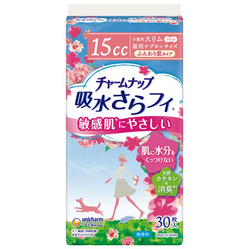 【送料無料】 Tチャームナップふんわり肌 少量用 30枚×12 ユニ・チャーム