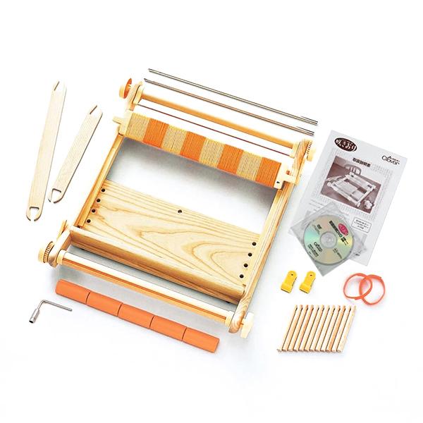 Clover(クロバー) 手織り機 「咲きおり」 40cm(30羽セット)[手織り/織機/手芸用品]