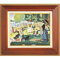 刺繍キット オリムパス アートギャラリー 875/「グランド・ジャット島の日曜日」ジョルジュ・スーラ作 [刺し
