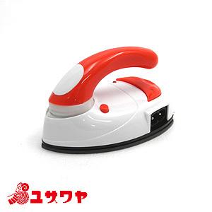 アイロン本体 携帯用バッグ付き mini IRON 最安値 大規模セール ミニアイロン DOSHISHA 赤 DMA-04RD ドウシシャ