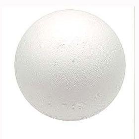 お気に入 限りない可能性を持つマテリアル 発泡スチロール 全品最安値に挑戦 素材 素ボール 直径150mm S150-1 真球型 1個入り
