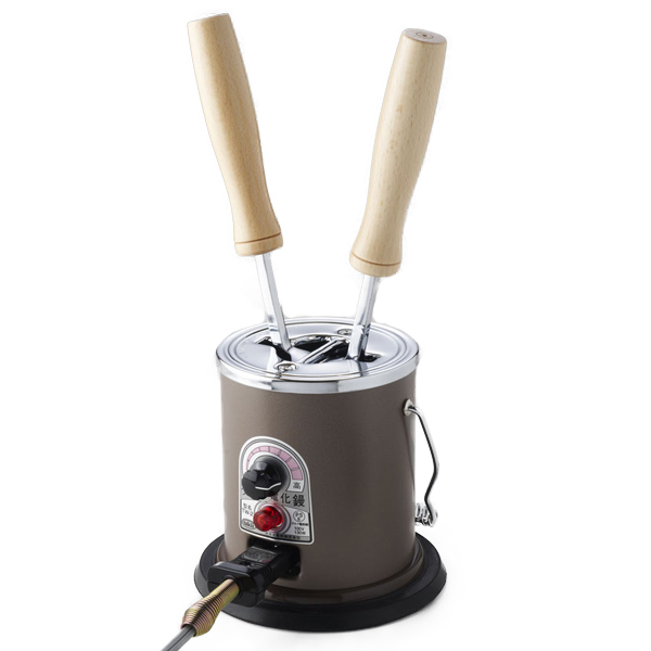 和裁洋裁道具 『タキイ電気コテ2丁立』