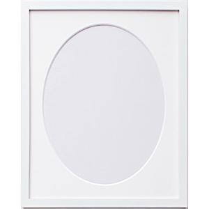 オリムパス 木製フレーム(ホワイト)/W-53 /5個セット/ 【まとめ買い・大口】