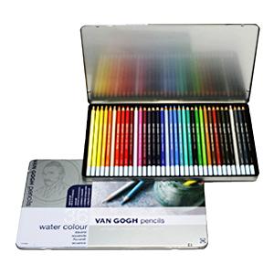 ヴァンゴッホ水彩色鉛筆36色セット/5個セット 【まとめ買い・大口】