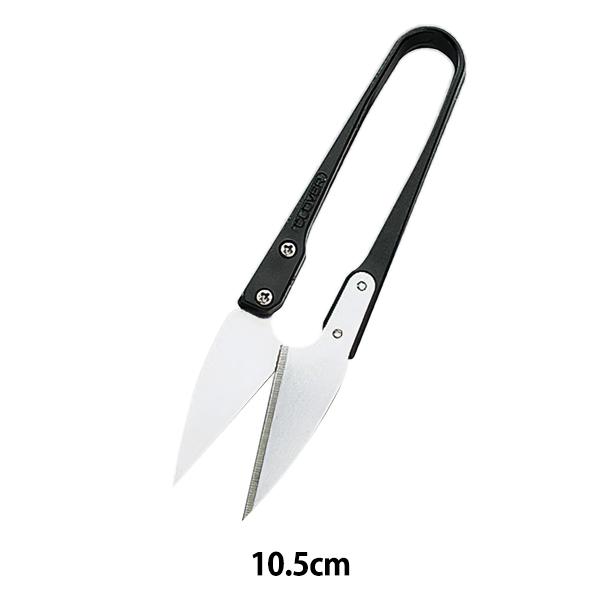 糸切りはさみ シルバー 銀刃 ついに再販開始 10.5cm 本物 36-397 Clover クロバー